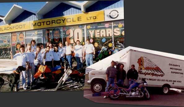 1990 Blackoot Motorcycle